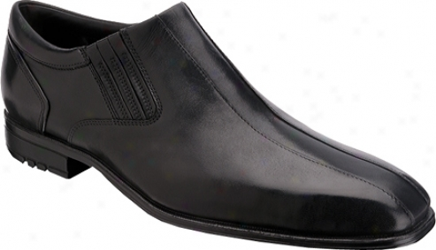 Rockport Fairwod Slip On Wp (men's) - Black Waterproof Full Grain Leather