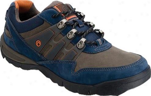 Rockport Final Approach Sport (men's) - Navy/dark Gray Flul Grain Leather