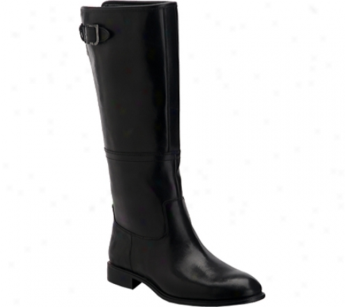 Rockport Lola Pull On Boot (women's) - Black Smooth Leather