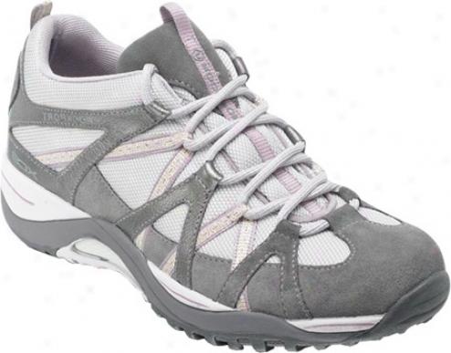Rockport Paula Sneaker Low (women's) - Ash/mauve/iron Stone Waterproof Leather