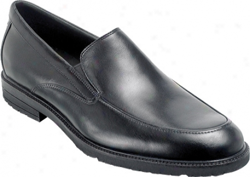 Rockport Richner (men's) - Black Full Grain Leather