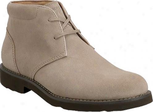 Rockport Ridge Valley Boot (men's) - Off White Suede