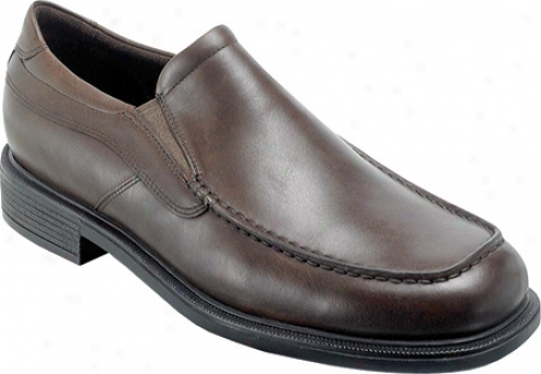 Rockport Rolle (men's) - Chocolate Entire extent Grain Leather