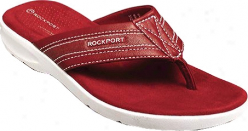 Rockport Sailboat Circle (men's) - Red Tumbled