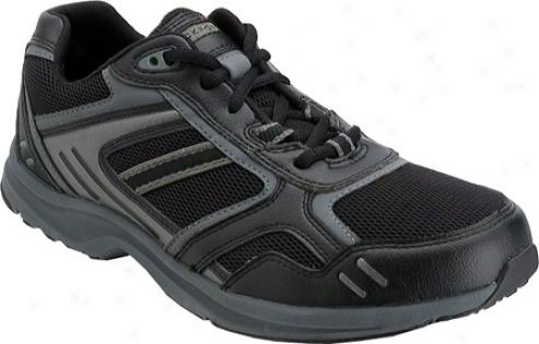 Rockport Tech Figure (men's) - Black/grey Leather