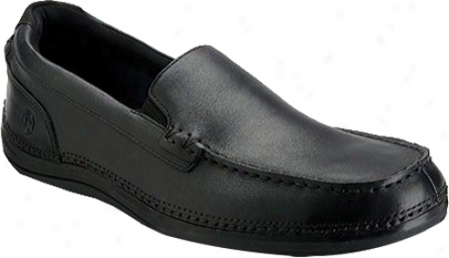 Rockport Thrru The Week Slip On W Gore (men's) - Black Full Grain Leather