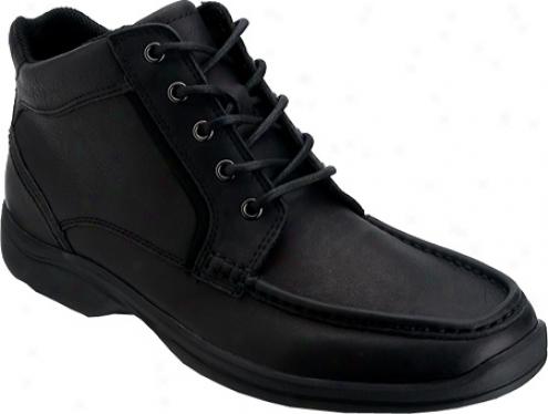 Rockport Track Record Moc Toe (men')s - Dark Comprehensive Grain Leather