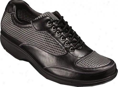 Rockport Tyler New Sneaker Mesh (women's) - Black/graphite Smooth Calf/mesh