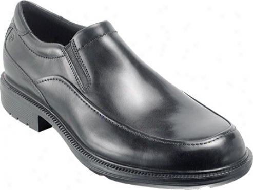 Rockport Wispen (men's) - Black Completely Grain Leather