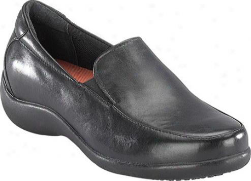 Rockport Works Rk605 (women's) - Black Leather