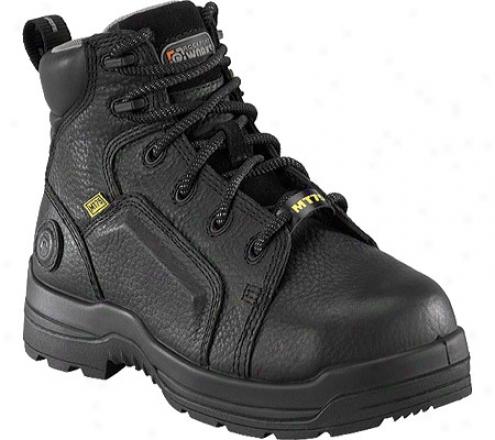 Rockport Works Rk6465 (men's) - Black Full Grain Leather