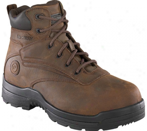 Rockport Works Rk663 (women's) - Brown Waterproof Craz6 Horse Leather