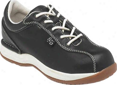 Rockport Works Taconic St (women's) - Black Leather