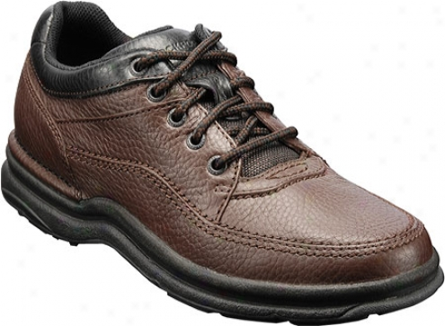 Rockport Life Tour Classic (men's) - Dark Brown Tumbled Leather