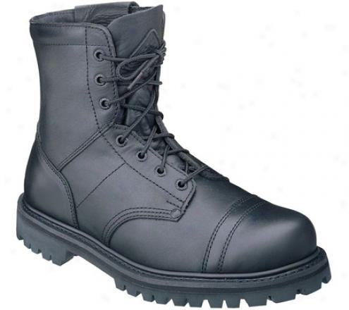 """Hard 7"""" Zipper Paraboot 2091 (men's) - Black Leather"""