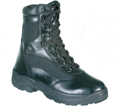 """rocky 8"""" Fort Hood 2049 (men's) - Black Leather"""