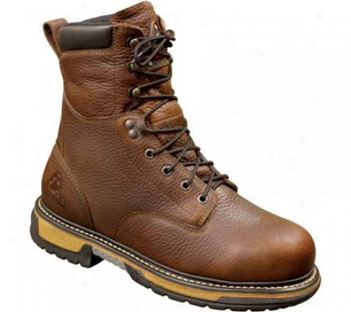 """""""rocky 8"""""""" Ironclad 5694 (men's) - Bridle Brown Leather"""""""