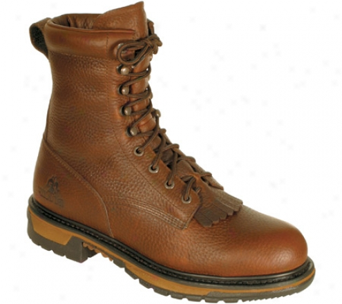 """""""rkcky 8"""""""" Ride Lacer 6717 (men's)) - Bridle Brown Leather"""""""