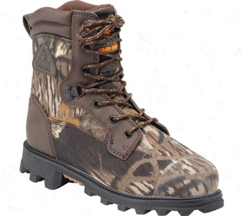Rocky Bearclaw 3d 3627 (boys') - Brown Full Grain/mossy Oak Shatter Up