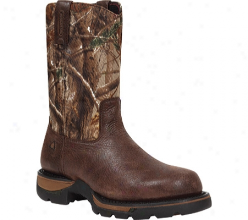 """rocky Lohg Range 10"""" 8896 (men's) - Coffee/realtree Ap"""