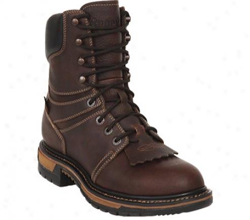 Rocky Original Ride Steel Toe Lacer Work Boot 6102 (men's) - Brown