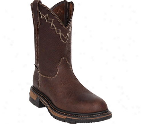 Hard Original Ride Steel Toe Ro0er Western Boot 6109 (men's) - Brown