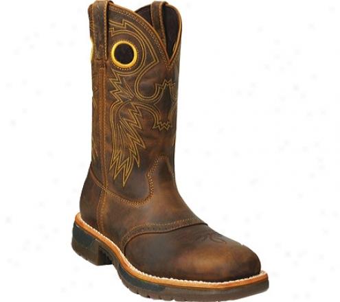 Rocky Original Ride Steel Toe Western Work Boot 6029 (men's) - Brown