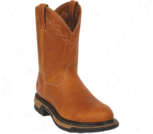 Rocky Original Ride Wellington Work Boot 1103 (men's) - Tan