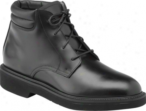 Rocky Polishable Dress Leather (men's) - Black Full Grain Leather