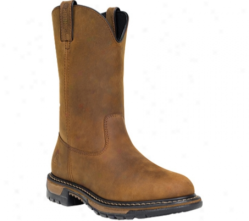 Rocky Ride Wellington Boot 2744 (men's) - Tan
