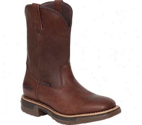 Rocky Steel Toe Waterproof Wellington 6649 (men's) - Browwn