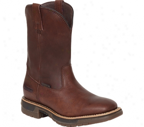 """rocky Wellington 10.5"""" Boot 5649 (men's) - Brown"""