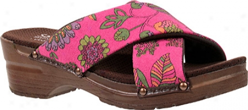 Sanita Clogs Astrid (women's) - Fuchsia