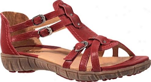 Sanita Clogs Ditte (women's) - Red