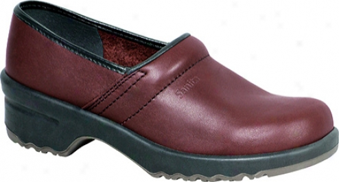 Sanita Clogs Lisa (women's)-  Bordo