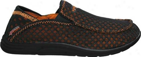 Saucony Amp Pro2 Reco (men's) - Black/orange