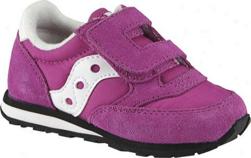 Saucony Jazz H&l (infant Girls') - Paradisse Pink Suede/nylon