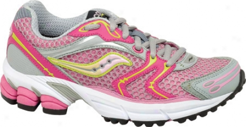 Saucony Nitrous (girls') - Hot Pink/begonia Leather/mesh