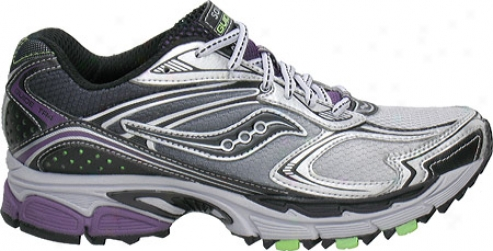 Saucony Progrid Guide Tr4( women's) - Silvet/black/purple