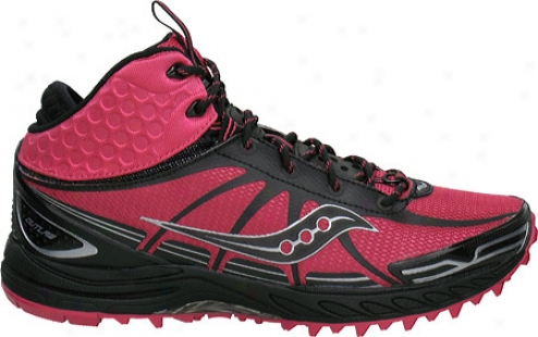 Saucoony Progrid Outlaw (women's) - Pink/black