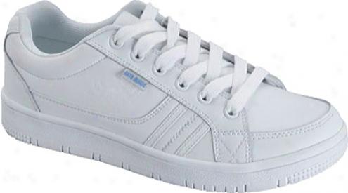 Scrub Star Pansy (women's) - White Leather