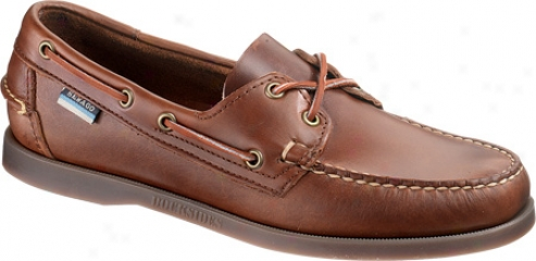 Sebago Docksides (men's) - Brown Oiled Waxy