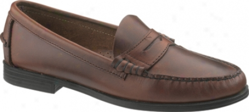 Sebago Plaza (women's) - Brown Leather