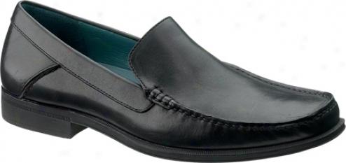 Sebago Sussex Mox (men's) - Black Full Grain Leather