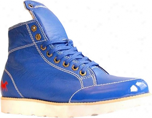 Shane & Shawn H20 (men's) - Blue Full Grain Leather/patent Leather