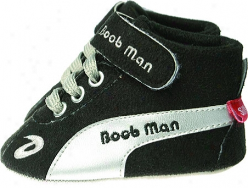 Silly Souls Boob Man Shoes (infant Boys') - Black/white