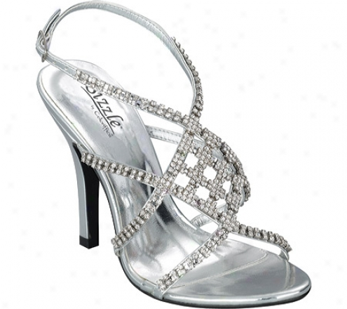 Sizzle Broadway (women's) - Silver Metallic