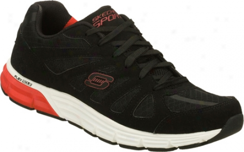 Skechers Ace Outrun (men's) - Black/red