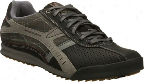 Skechers Ascoli Marchw (men's) - Black/charcoal