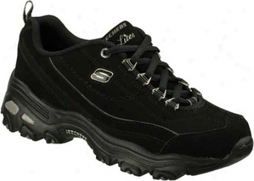 Skechers D Lites Raptures (women's) - Black